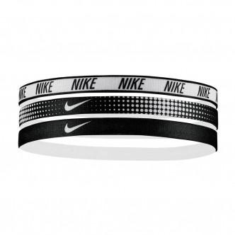 Nike - Swoosh Headbands 3pz col. Bianco/Nero cod. NJN94962OS