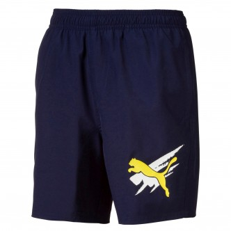 Puma -  Summer Shorts Cat col. Blu cod. 843863-06