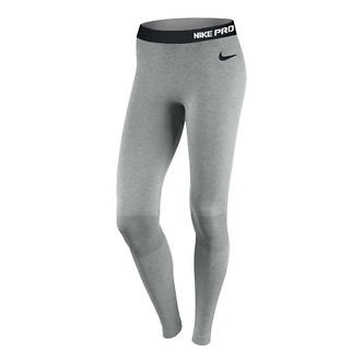 Nike Pro Hyperwarm Compression Seamless Tights Grigio 548772-063
