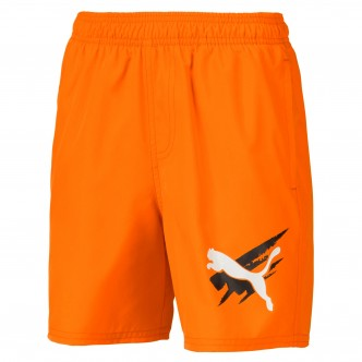 Puma -  Summer Shorts Cat col. Arancio cod. 843863-45