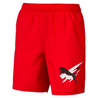 Puma -  Summer Shorts Cat col. Rosso cod. 843863-11