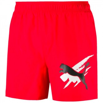 Puma - Ess Summer Shorts Graphic col. Rosso cod. 843728-11