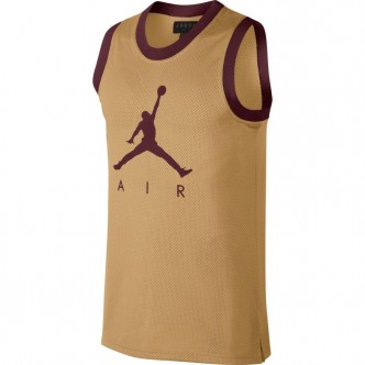 Jordan Sportswear Jumpman Mesh Rev Canotta Oro/Marrone AR0026-723