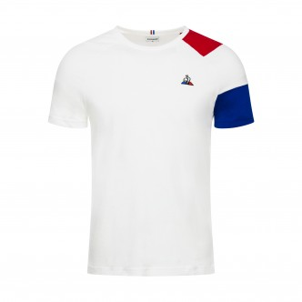T-SHIRT ESSENTIEL TRICOLOR BIANCO 1911261