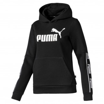 Puma Amplified Hoody FL col. nero cod. 580471-01