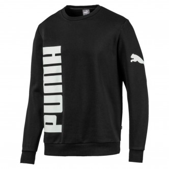 Puma Big Logo Crew FL col. nero cod. 580563-01