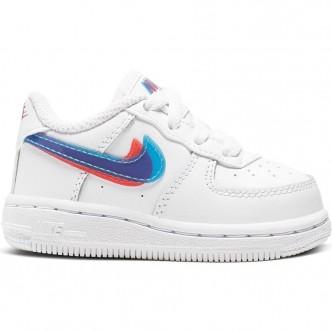 Nike Force 1 LV8 Bianco/Azzurro/Rosa CJ7161-100
