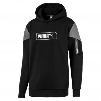 Puma NU-TILITY Hoody Nero/Grigio 580388-01
