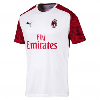 Puma Official A.C. Milan Training Jersey Bianco/Rosso (2019/2020) 756141-02