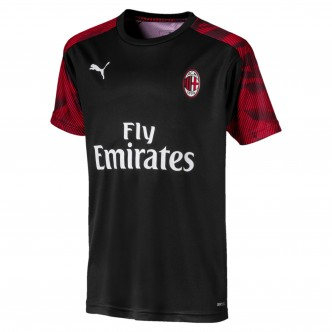 Puma Official A.C. Milan Training Jersey Nero/Rosso (2019/2020) 756144-03
