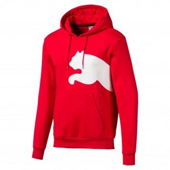 Big Logo Hoody FL Rosso 580565-11
