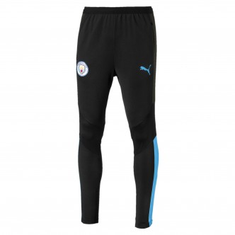 Puma MCFC Training Pants PRO Nero/Celeste 755800-17