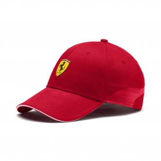 Puma Scuderia Ferrari Fanwear Baseball Cap Rosso 022385-01