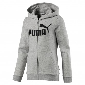 Puma Essentials Hooded Jacket Grigia 851760-04