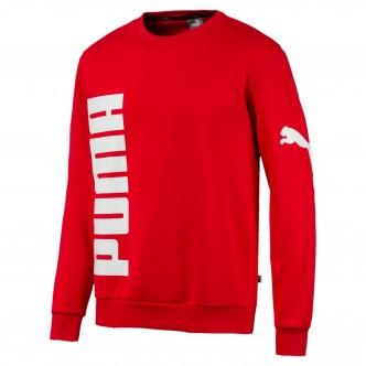Puma Big Logo Crew FL Rossa 580563-11