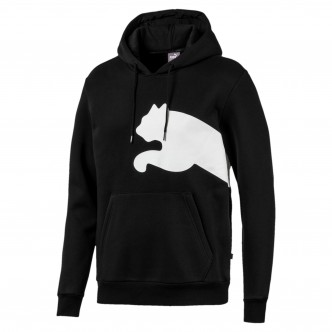 Puma Big Logo Hoody FL Nera 580565-01