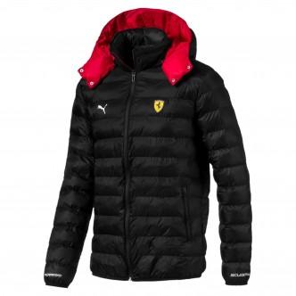 Puma Scuderia Ferrari Eco Packlite Jacket Nero/Rosso 595424-02
