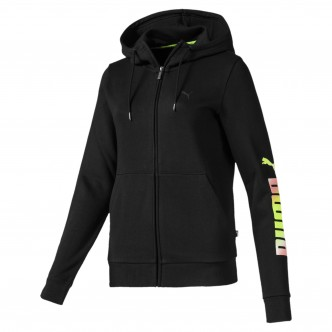 Puma Essentials Fleece Hooded jacket Nero 853460-61