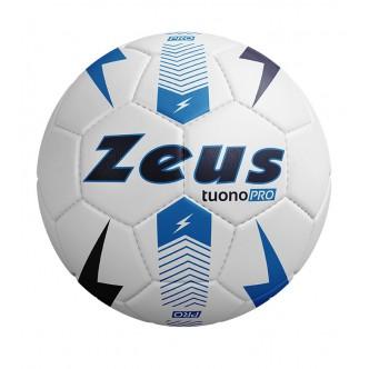 Pallone Tuono Pro Bianco/Nero/Azzurro Zeus Sport