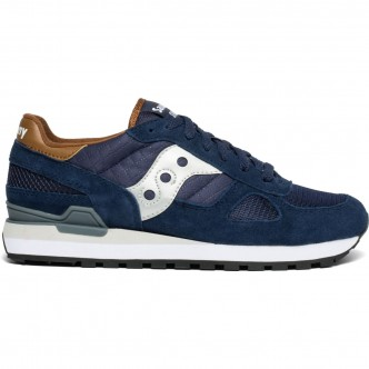SAUCONY SHADOW O' BLU/MARRONE 2108/710