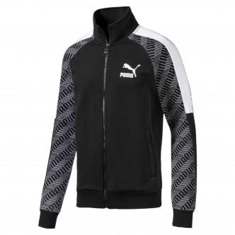 Puma T7 Track Jacket Nero/Grigio/Bianco 595267-61