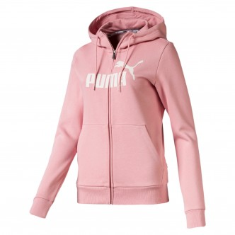 Puma Essential Fleece Hooded Jacket Rosa 853460-94