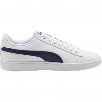 Puma Smash V2 L Bianco/Blu 365215-02