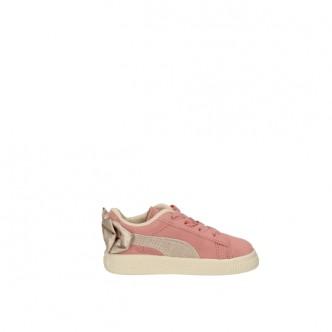 Puma Suede Bow Rosa/Bianco 367320-19