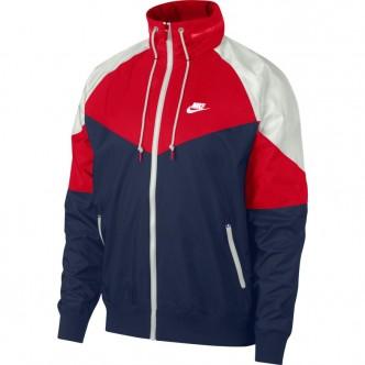 Nike Sportswear Windrunner Bianco/Rosso/Blu AR2209-410