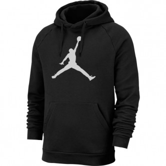 Jordan Jumpman Logo Hoodie Nero/Bianco AV3145-010