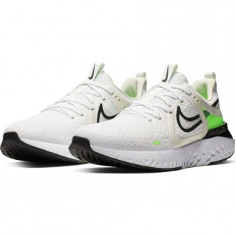 Nike Legend React 2 Bianco/Verde Fluo AT1368-101