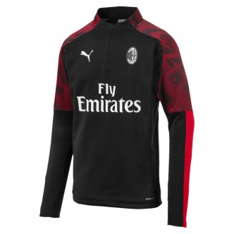 Puma A. C. Milan Training Fleece Rosso/Nero 756146-03