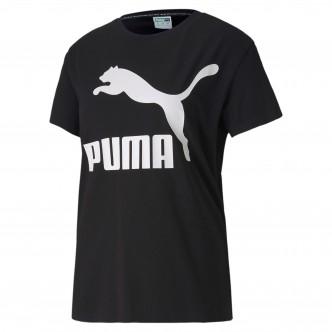 Puma Classic Tee Logo Nero 595514-01