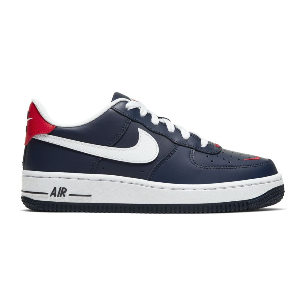 air force 1 rosse blu