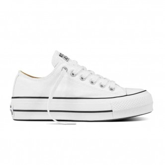 Converse Chuck Taylor All Star Lift Low Bianche 561680C