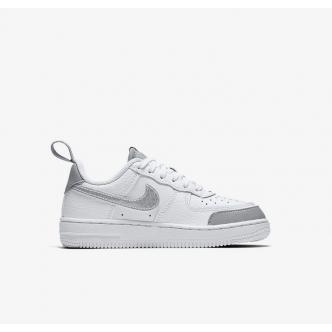 Nike Force 1 LV8 2 Bianco/Argento CK0829-100