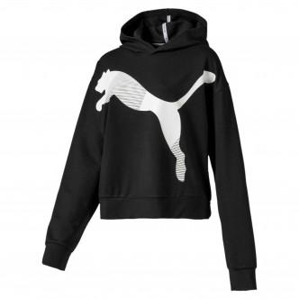 Puma Modern Sport Hoody Nero/Bianco 580079-01