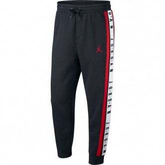 Air Jordan Fleece Pant Nero/Rosso BQ5664-010