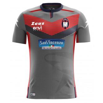 MAGLIA UFFICIALE F.C. CROTONE AWAY GRIGIA COPPA ITALIA (2019)