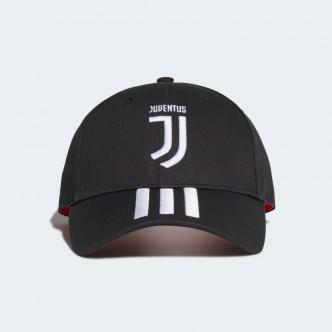 Adidas Cappellino 3-Stripes Juventus Nero-Bianco DY7527