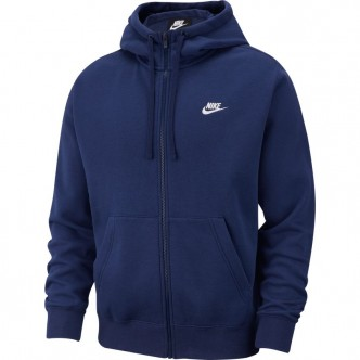 Nike NSW Club Hoodie FZ Blu BV2645-410