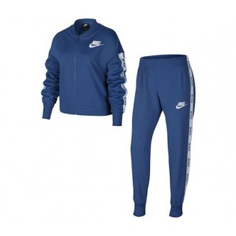 Nike Sportswear Tracksuite Blu/Bianco BV2769-469