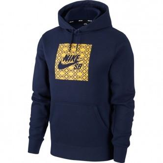 Nike SB Hoodie Blu/Oro CJ9526-451