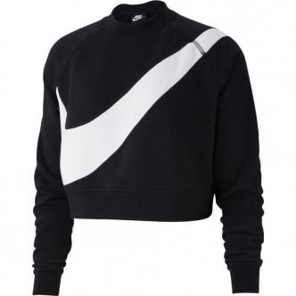 Nike Sportswear Swoosh Top Nero/Bianco BV3933-011