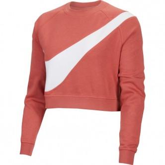 Nike Sportswear Swoosh Top Rosa/Bianco BV3933-897