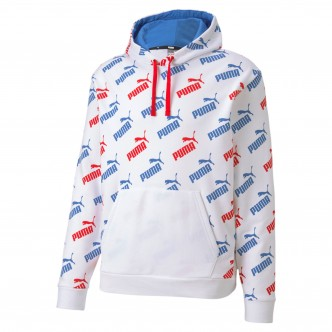 Puma Amplified Hoodie TR Bianco/Royal/Rosso 581720-62