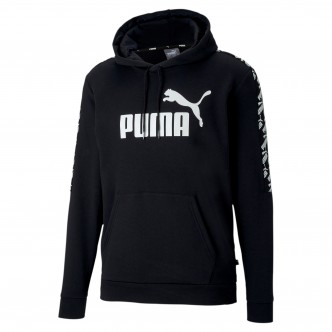 Puma Amplified Hoody TR Nero/Bianco 581393-01