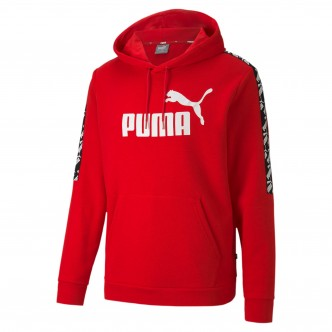 Puma Amplified Hoody TR Rosso/Nero/Bianco 581393-11