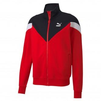 Puma Iconic MCS Track Jacket Rosso/Nero/Bianco 596446-11