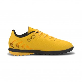 PUMA ONE 20.4 TT Jr Giallo-Nero 105842-01